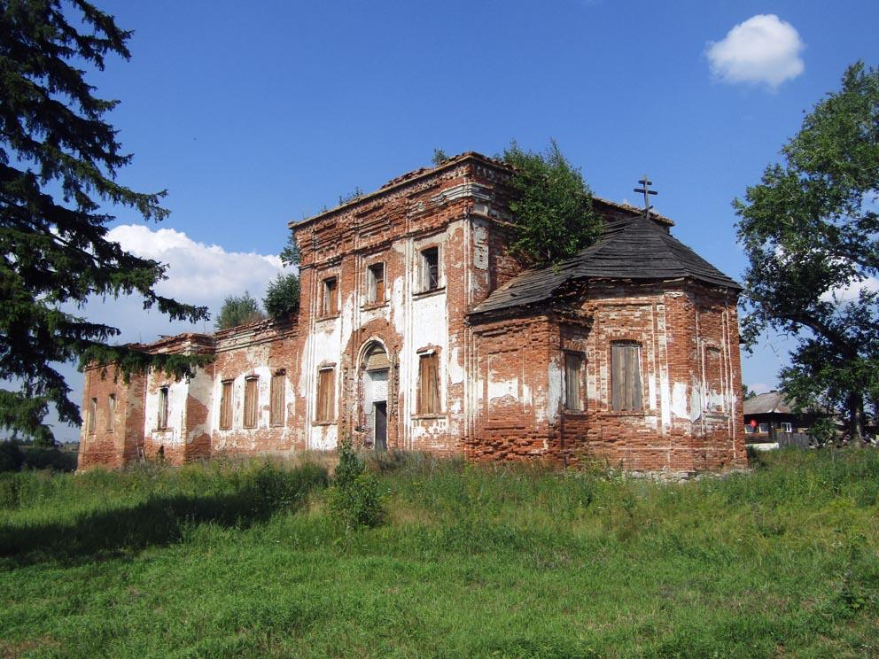 Село Деево: храм Александра Невского