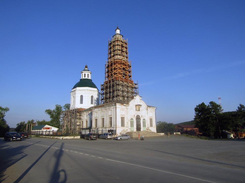 Сысерть: храм Симеона и Анны. Фото Алексея Рычкова