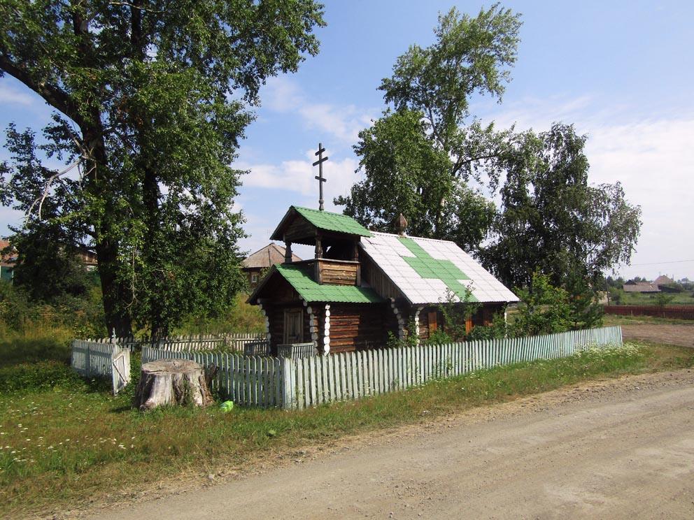 Село Деево: часовня Преображения Господня