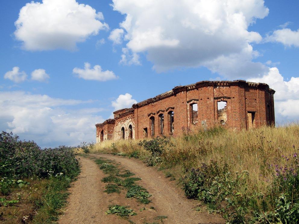 Село Гостьково: Константино-Еленинская церковь