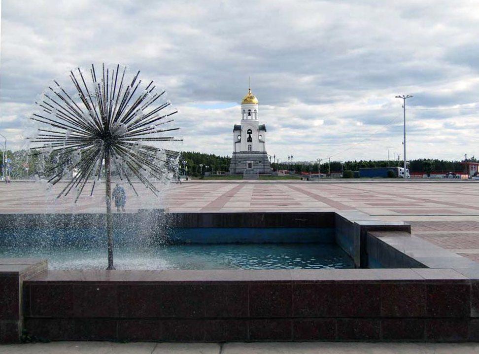 На площади Ленинского комсомола