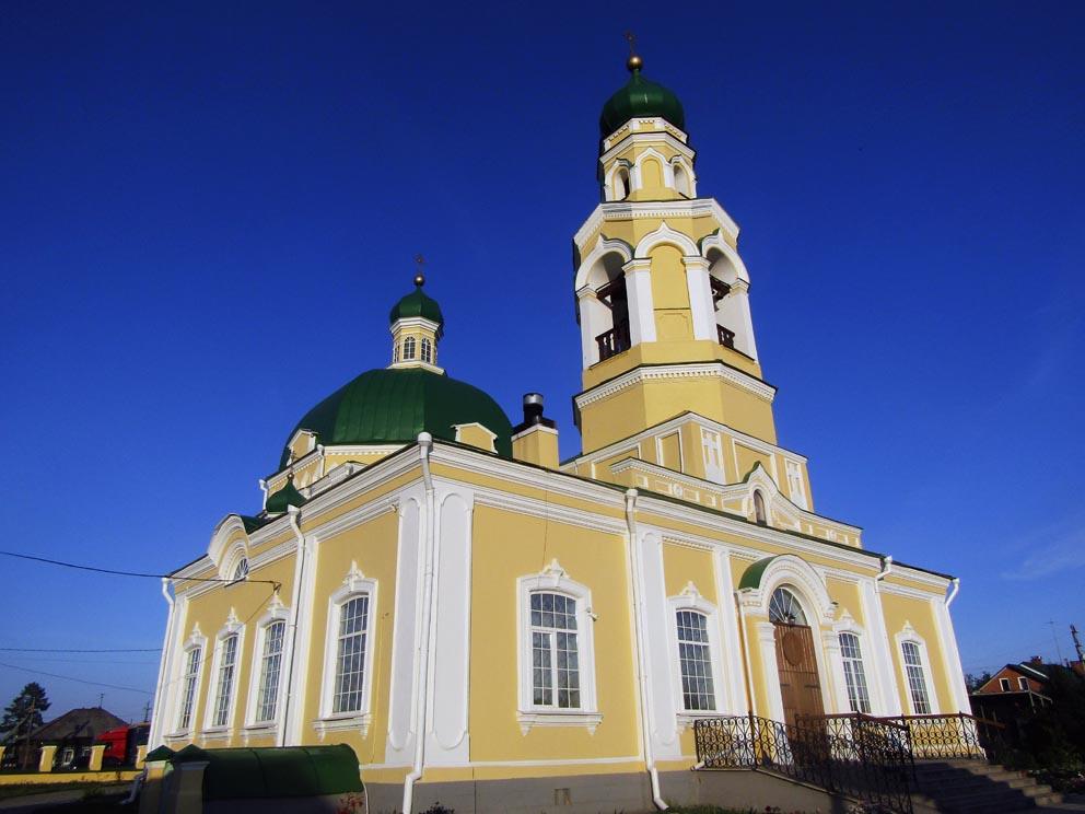 Храм cвятителя Николая Чудотворца в Николо-Павловском в 2020 году