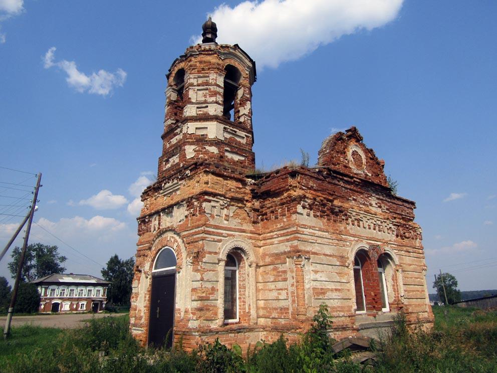 Деревня Ключи: Власиевская часовня
