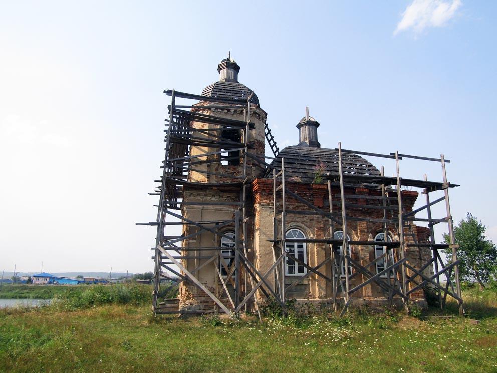 Деревня Кабакова: часовня Флора и Лавра