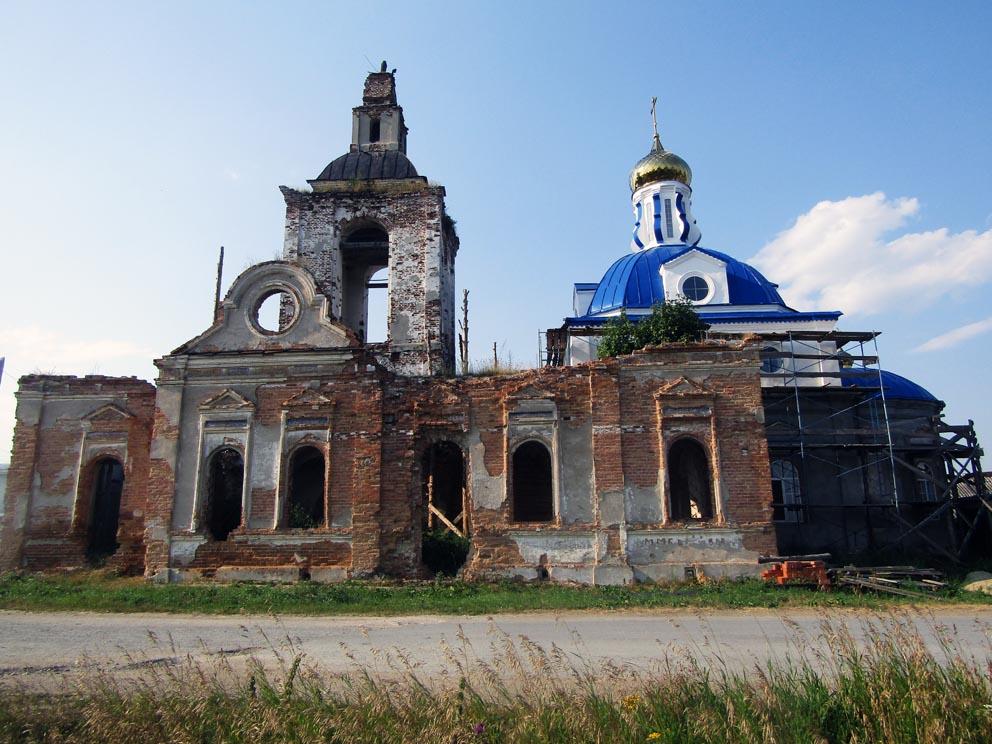 Село Голубковское: храм Вознесения Господня