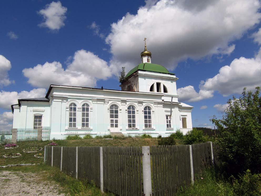 Село Курьи: храм Святой Троицы. Фото Алексея Рычкова