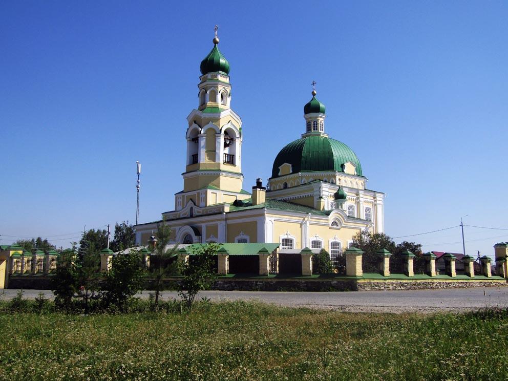 Храм cвятителя Николая Чудотворца в Николо-Павловском