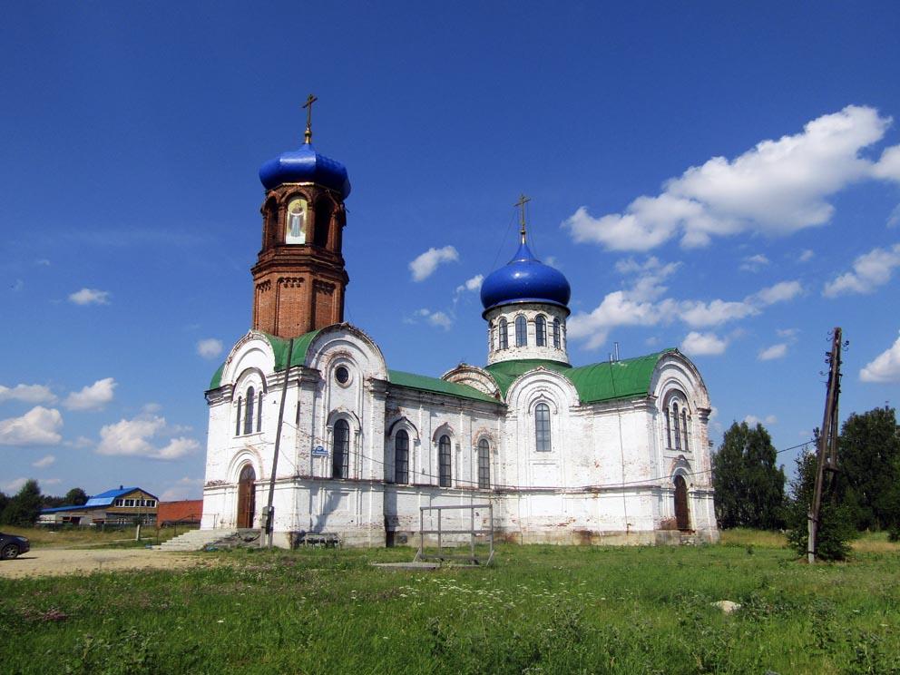 Село Покровское: храм Покрова Пресвятой Богородицы