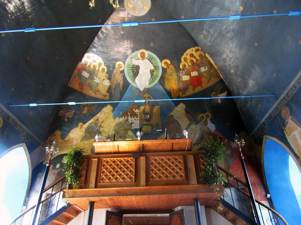 Роспись Петропавловской церкви
