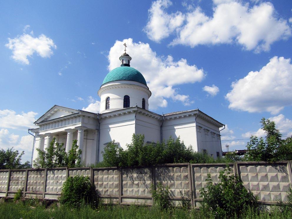 Нижняя Салда: храм Николая Чудотворца