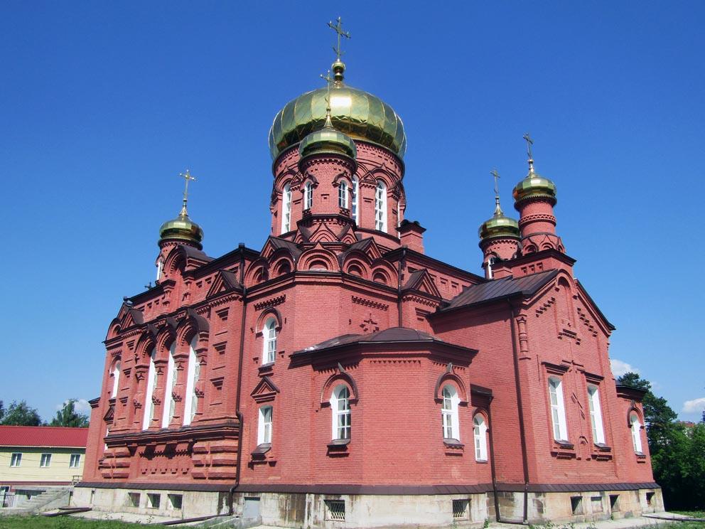 Вознесенский храм Скорбященского женского монастыря в Нижнем Тагиле