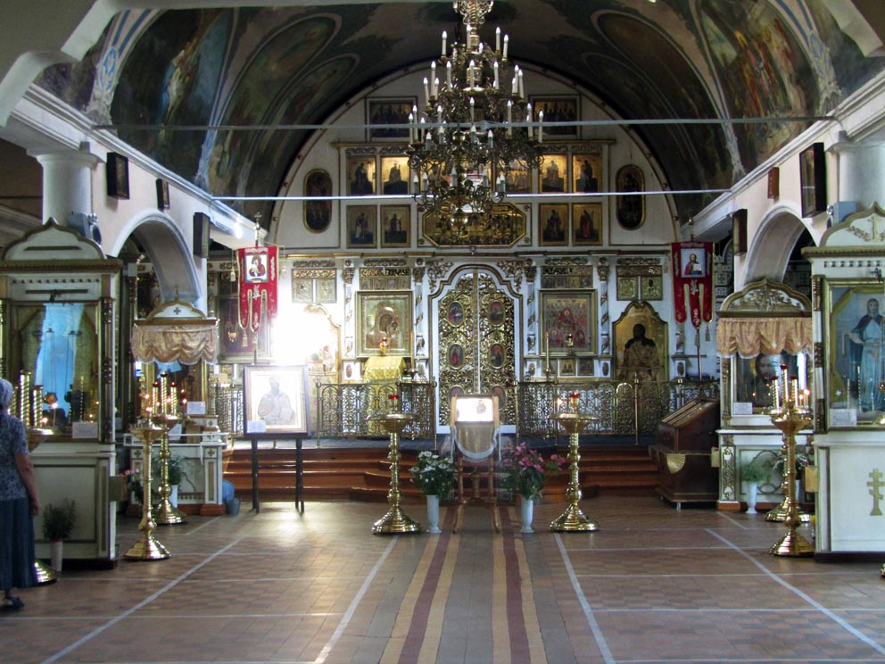 В Казанском соборе Нижнего Тагила. Фото Алексея Рычкова