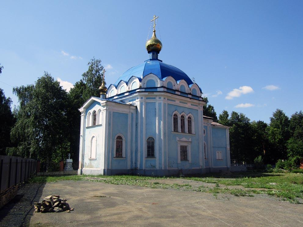 Скорбященская церковь Скорбященского женского монастыря в Нижнем Тагиле