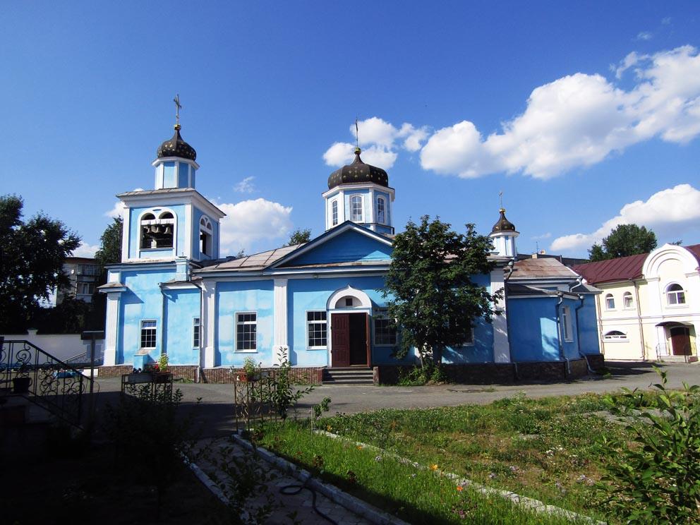 Казанский собор в Нижнем Тагиле (Казанский мужской монастырь)