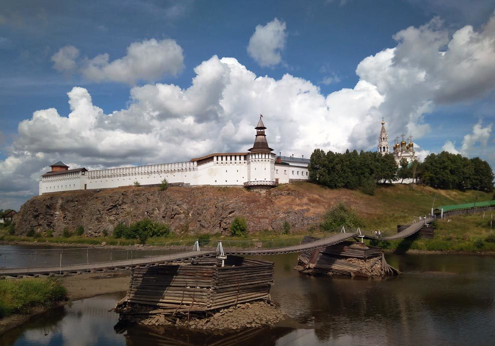 Верхотурский кремль и Свято-Троицкий собор