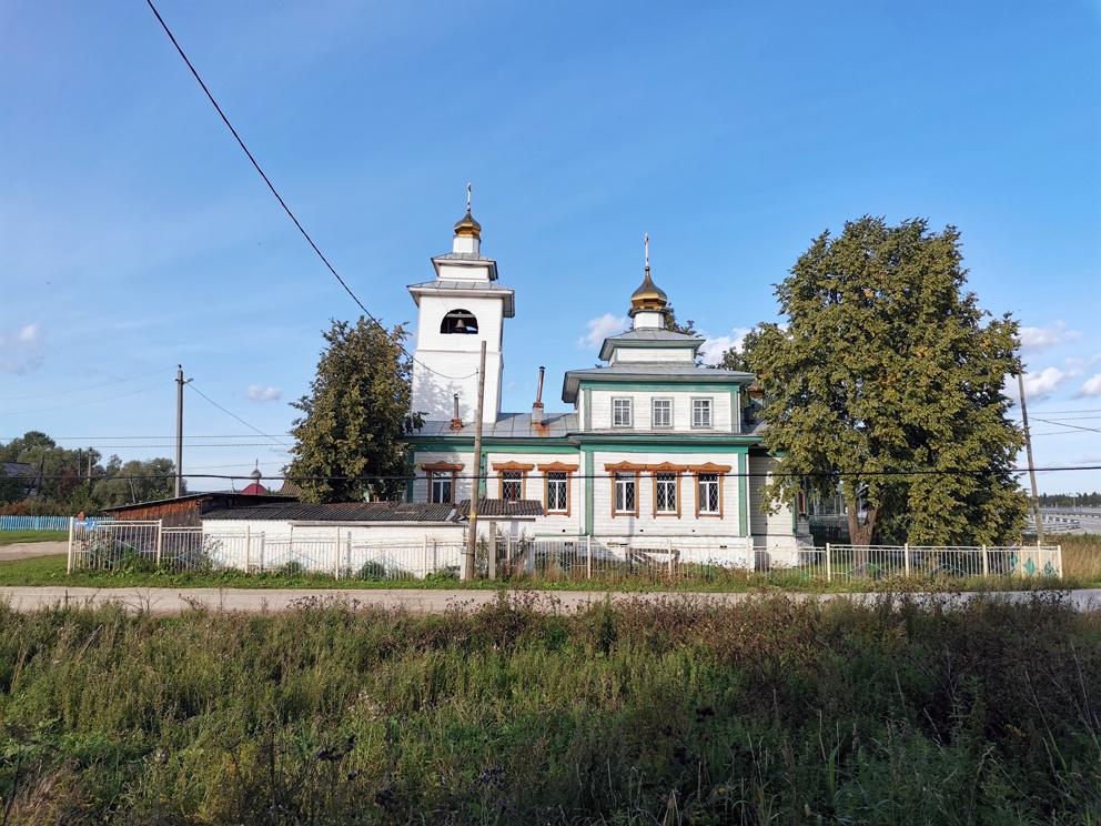 Село Пристань: Троицкая старообрядческая церковь
