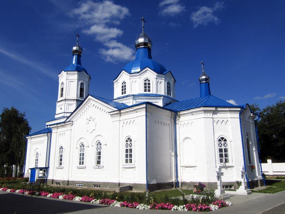 Покровская церковь женского Покровского монастыря в 2020 году