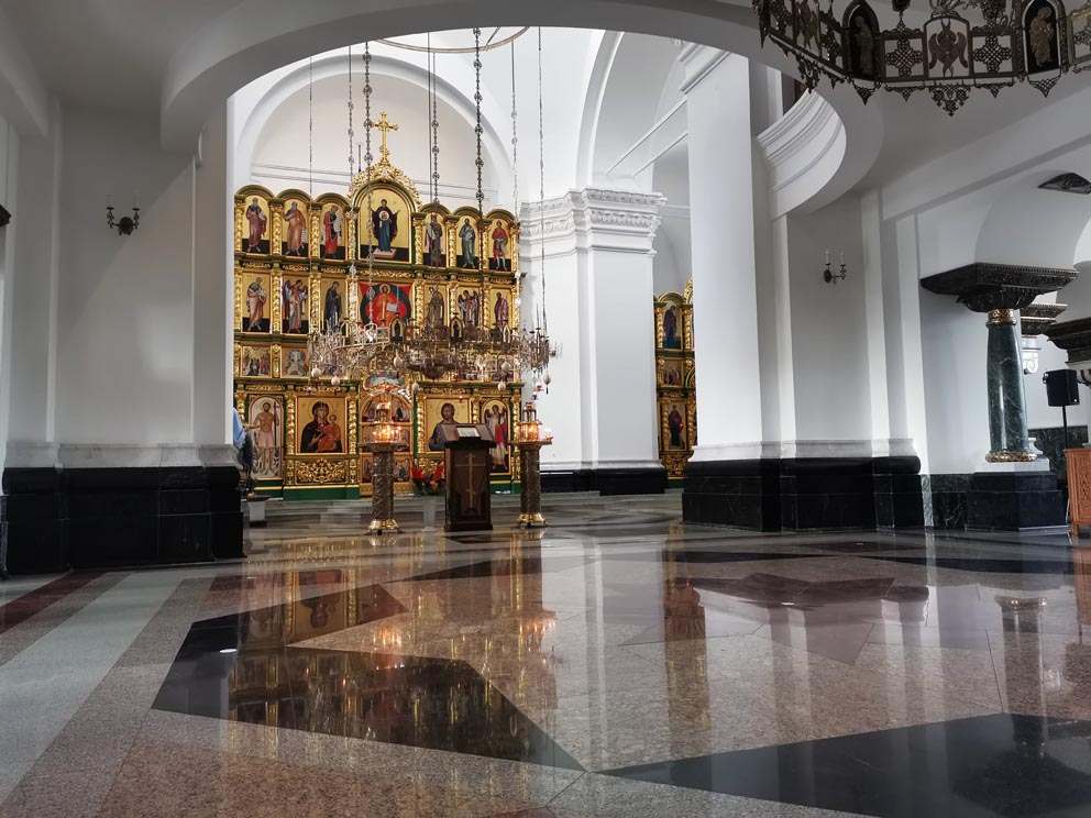 В храме Михаила Архангела в Меркушино