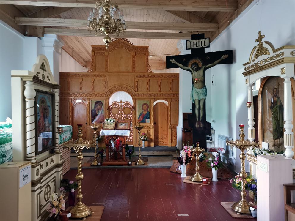 В храме Иоанна Предтечи в Нижних Сергах