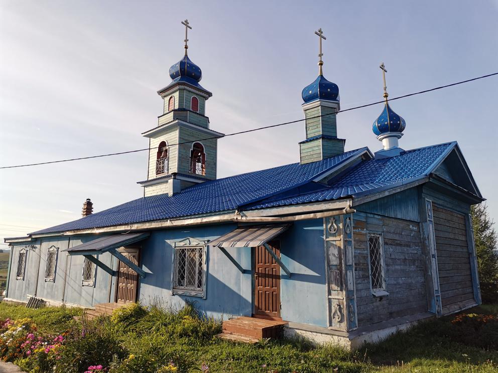 Введенская церковь в селе Пристань