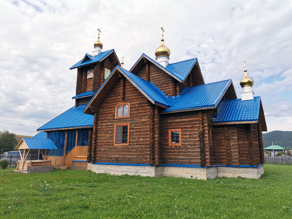 Поселок Сарана: храм Покрова Пресвятой Богородицы