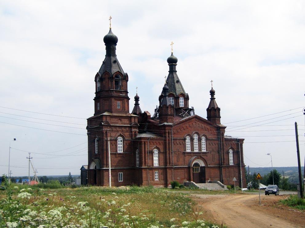Верхняя Тура: храм Александра Невского