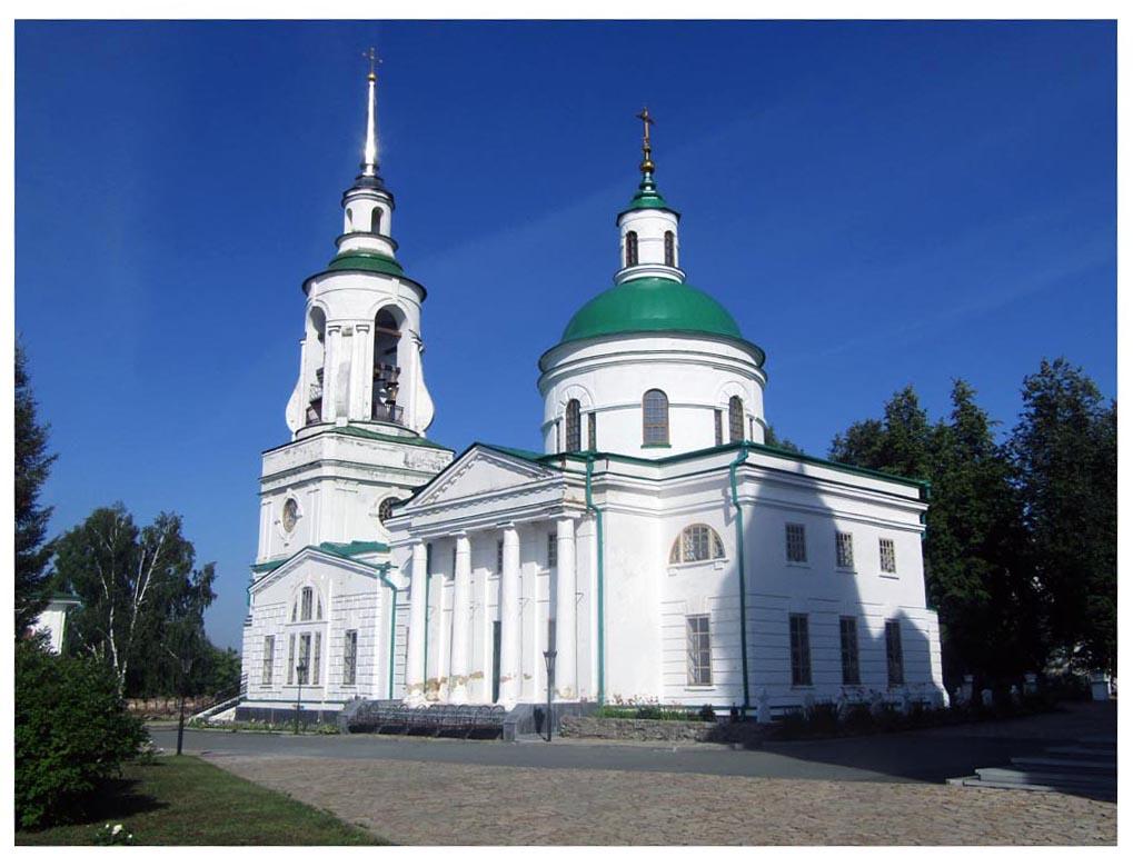 Преображенский храм Николаевского мужского монастыря