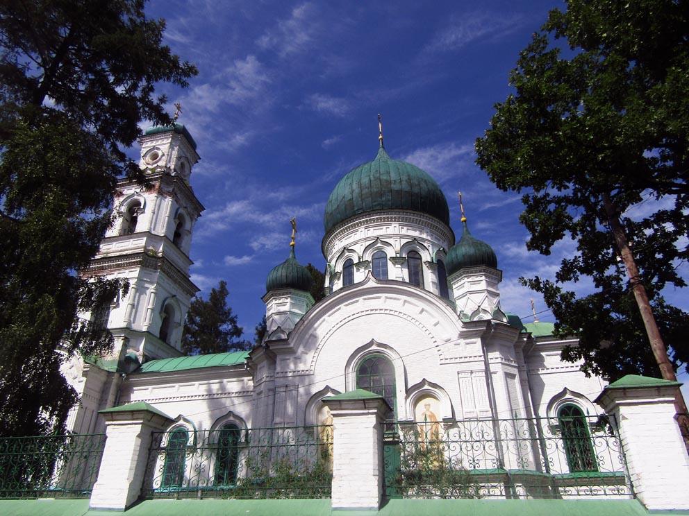 Михаило-Архангельская церковь в Кушве