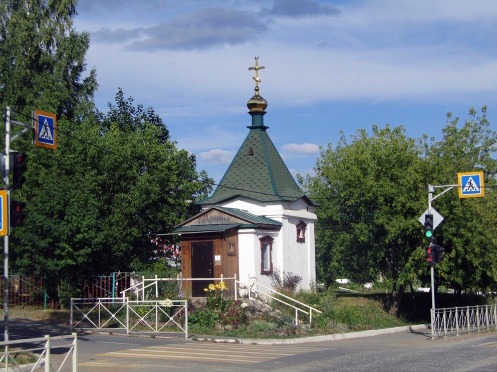 Верхняя Тура: часовня Георгия Победоносца