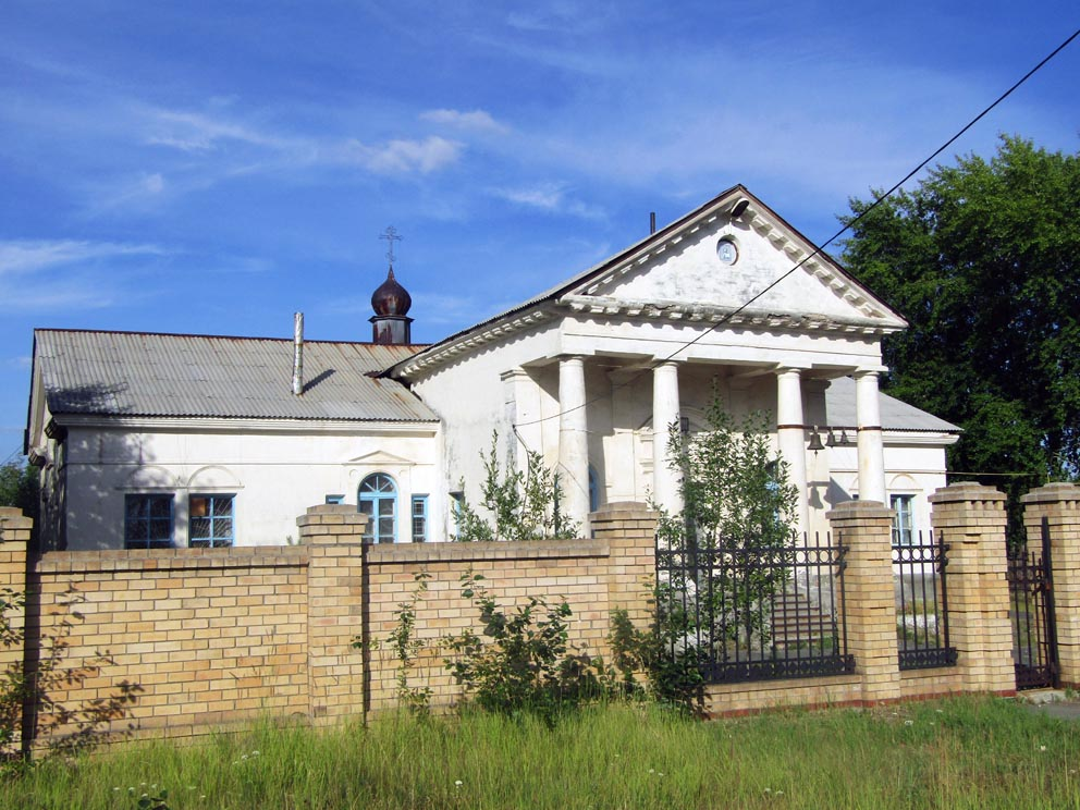Красноуральск: храм святого праведного Лазаря
