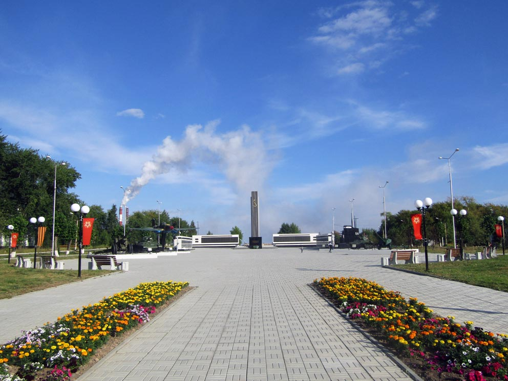 Красноуральск: Аллея Славы