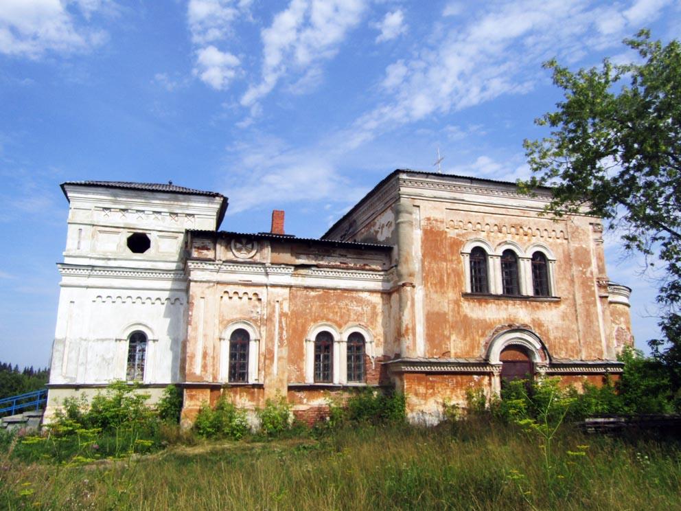 Село Рычково: храм Николая Чудотворца. Фото Алексея Рычкова