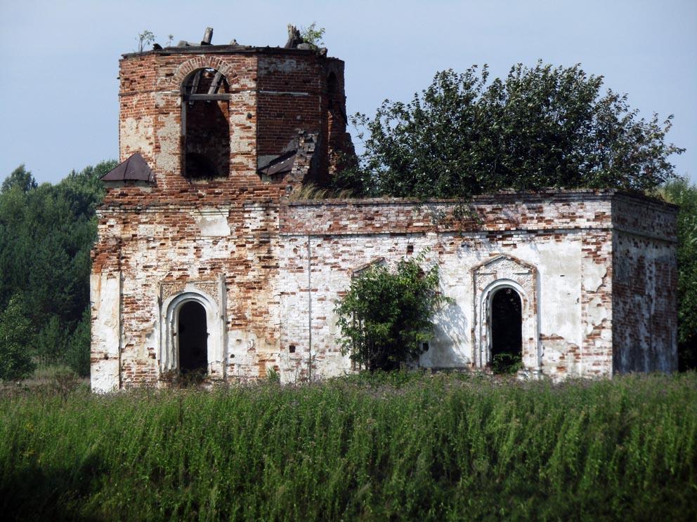 Деревня Гагина: часовня