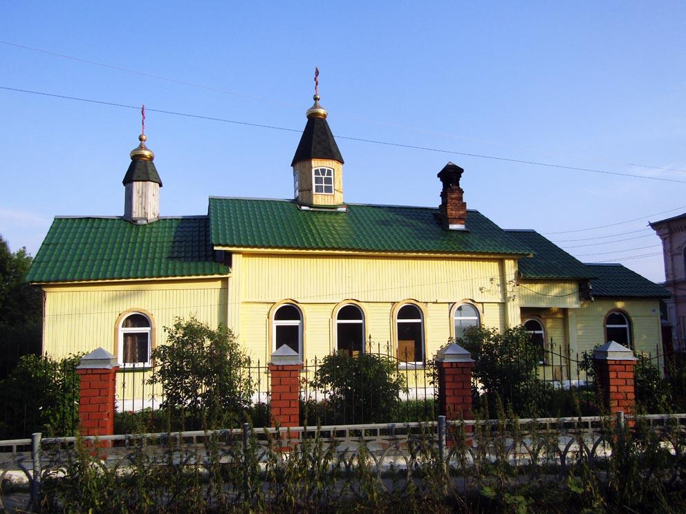 Поселок Махнево: храм великомученицы Варвары в 2020 году. Фото Алексея Рычкова