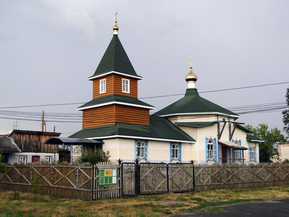 Поселок Пионерский: храм Серафима Саровского