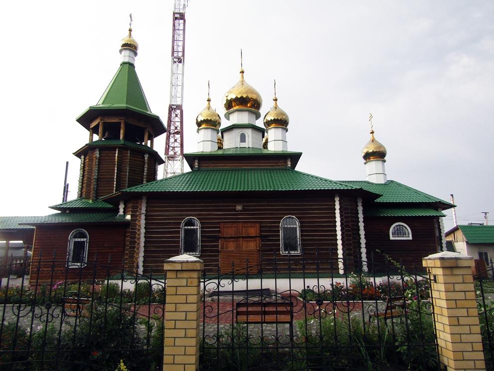 Поселок Троицкий: храм Сергия Радонежского