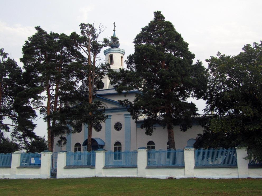 Село Беляковское: храм Владимирской иконы Божией Матери