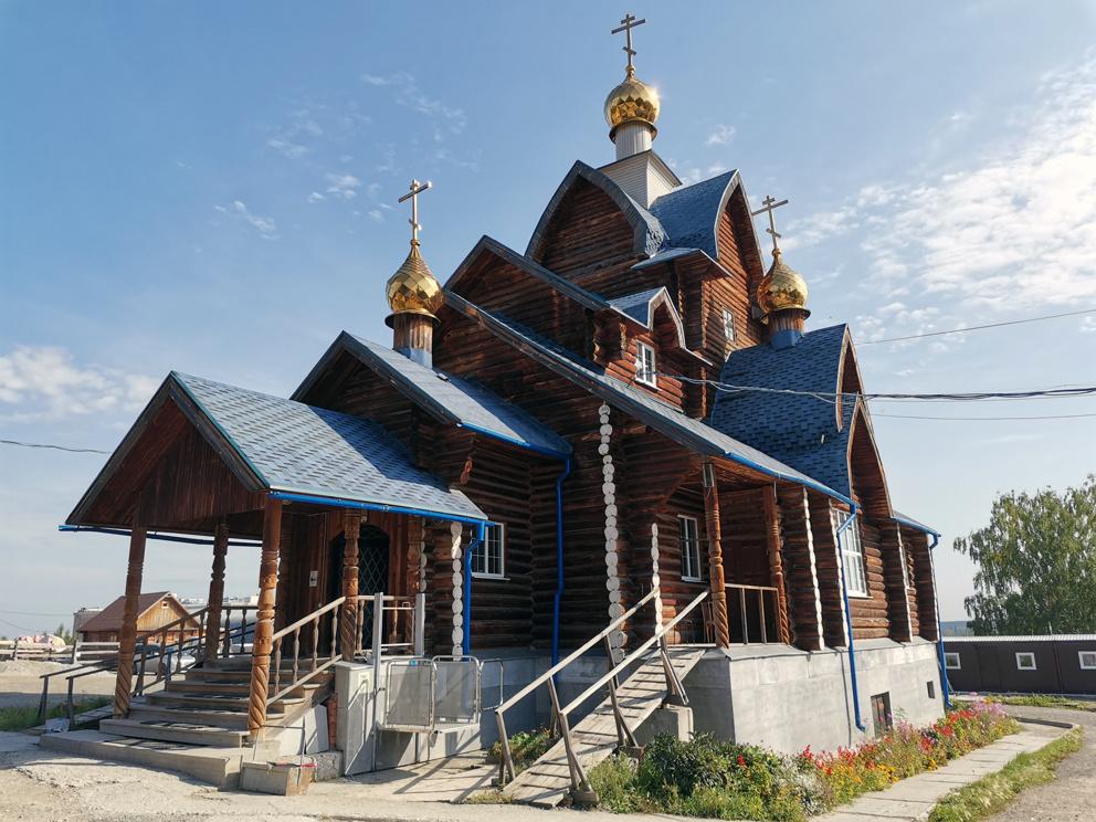 Храм Владимирской иконы Пресвятой Богородицы в Екатеринбурге на Семи ключах