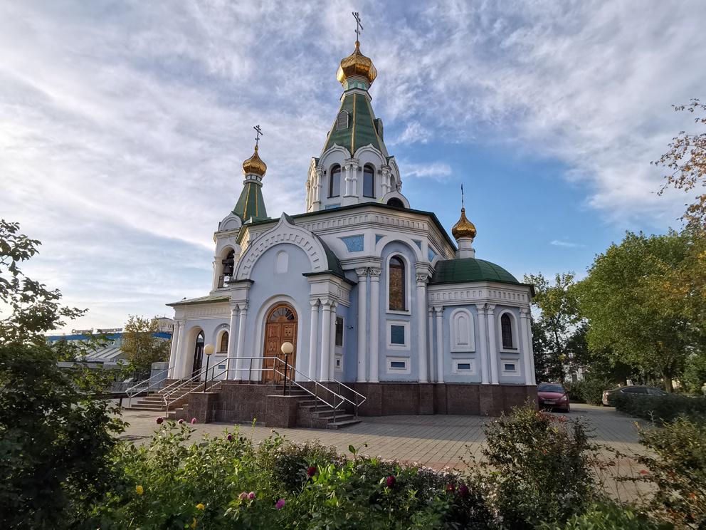 Храм Державной иконы Божией Матери в Екатеринбурге