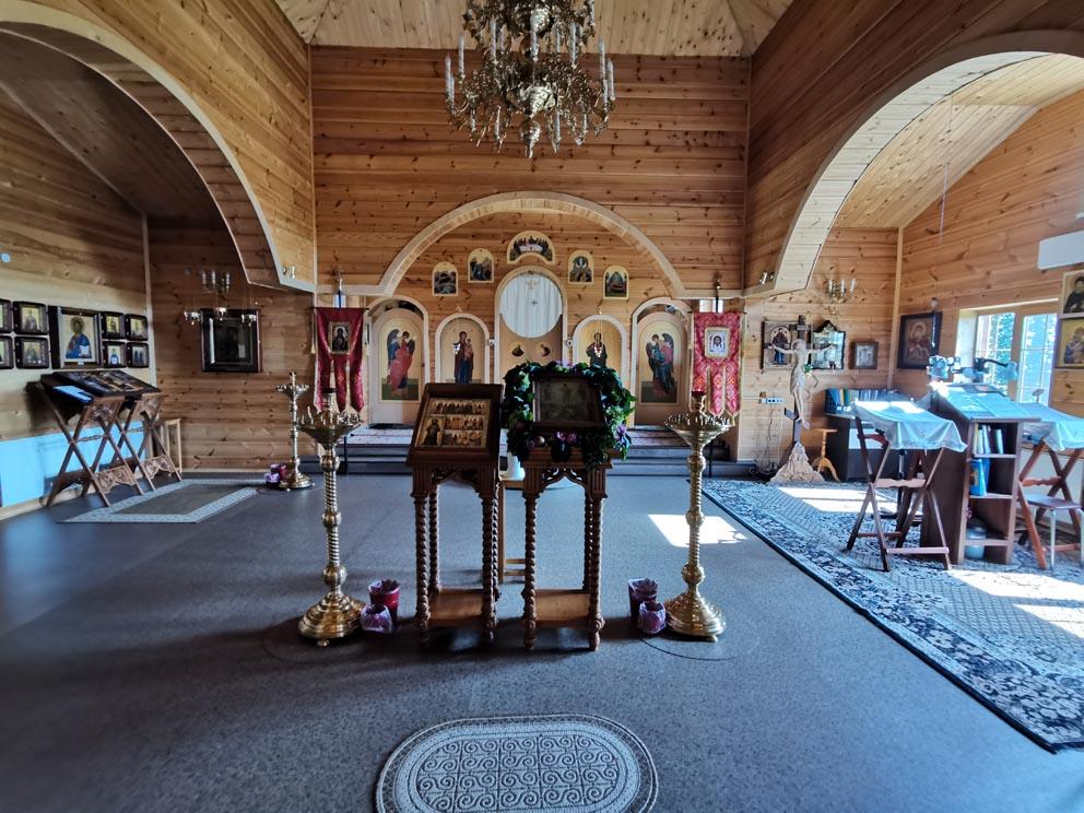 В храме Иверской иконы Божией Матери