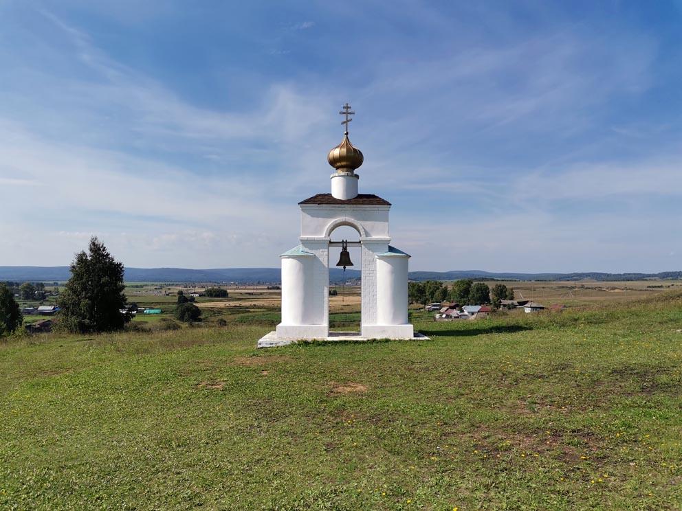 Звонница на монастырской горе