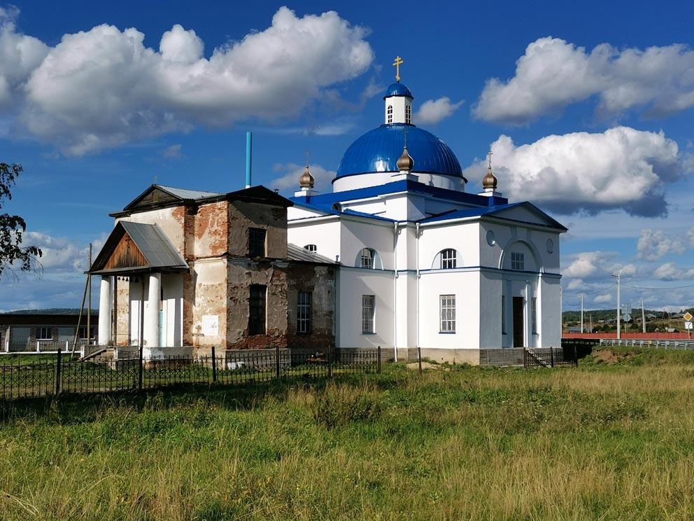 Село Сылва: храм Сретения Господня