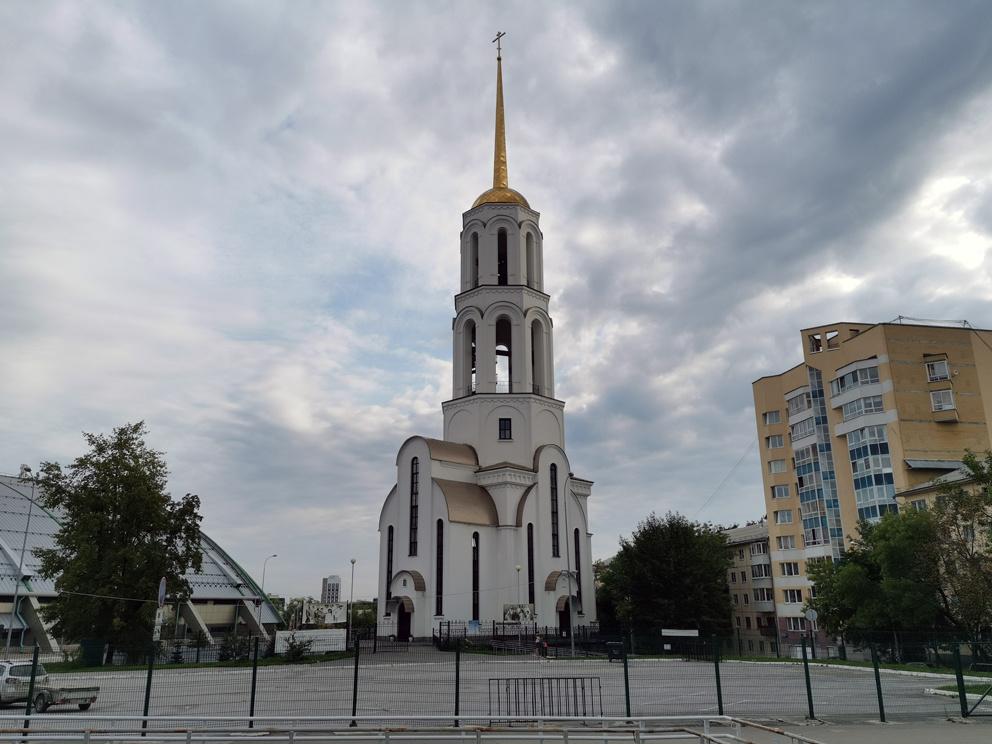 Сергиево-Елизаветинский храм в Екатеринбурге