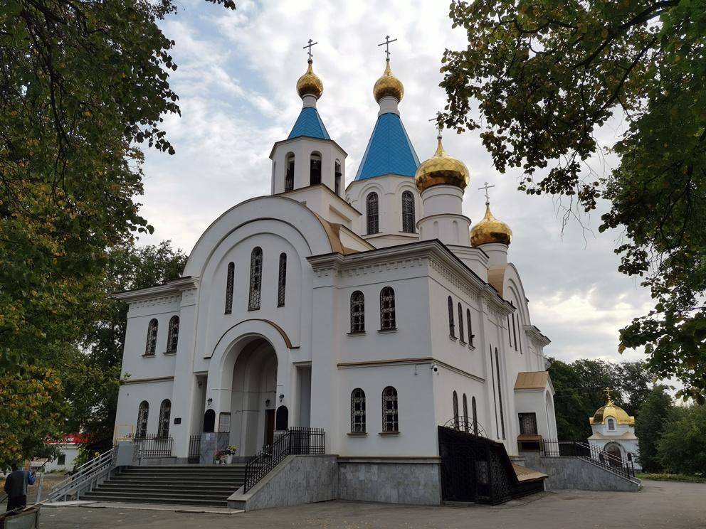 Храм Рождества Христова на Уралмаше в Екатеринбурге