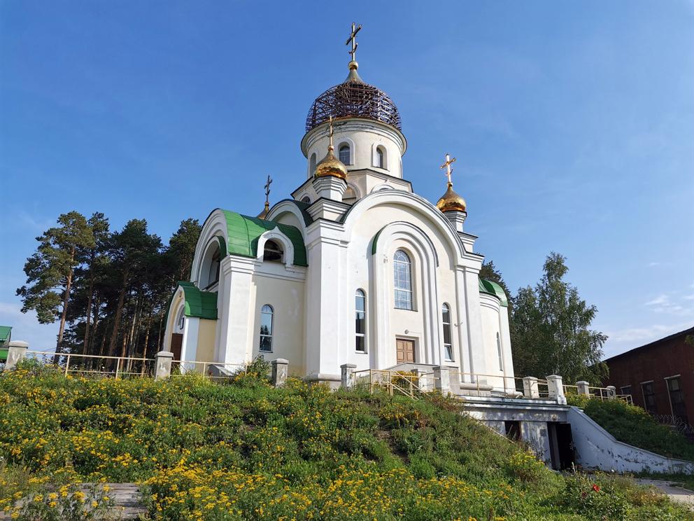 Храм Георгия Победоносца в Екатеринбурге