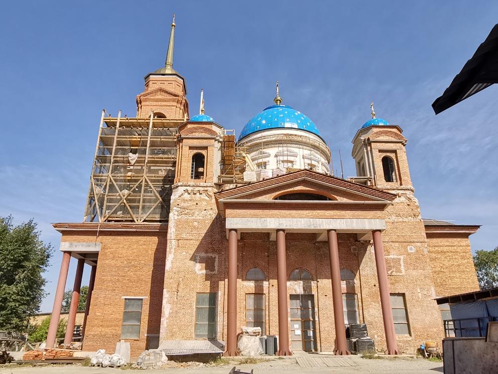 Собор Успения Пресвятой Богородицы на ВИЗе в Екатеринбурге