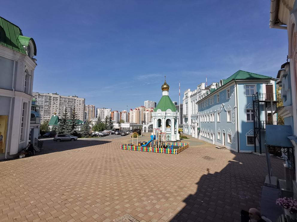 Подворье у собора Иоанна Предтечи в Екатеринбурге