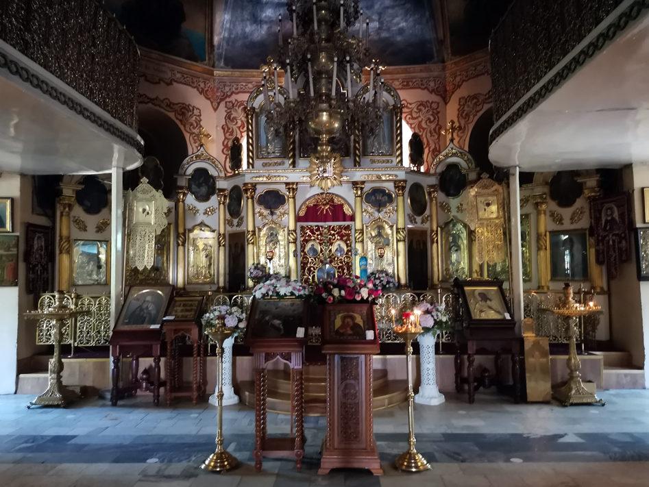 Главный престол собора Иоанна Предтечи в Екатеринбурге
