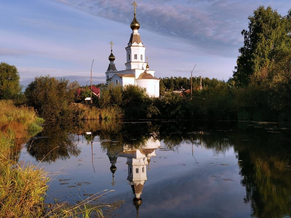 Село Балтым: храм Александра Невского