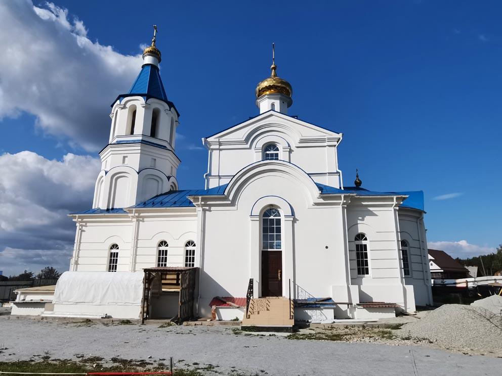 Поселок Садовый: храм святой равноапостольной Нины